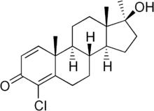 O esteroide cru do body building cristalino branco pulveriza 4-Chlorodehydromethyltestosterone